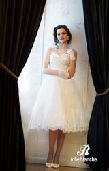 Свадебное новое платье из коллекции 2014