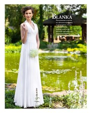 Нежное свадебное платье коллекция 2014