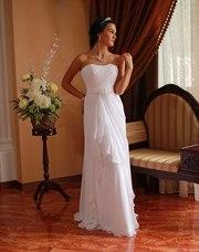 греческое свадебное платье,  новое 44 размер