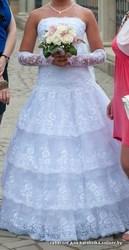 Продам свадебное платьице 46-48 размер