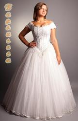 крупной фигуре свадебное платье